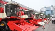 山东聊城市大型自走式玉米联合收割机项目