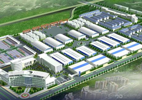 河南信阳华中商贸物流园项目