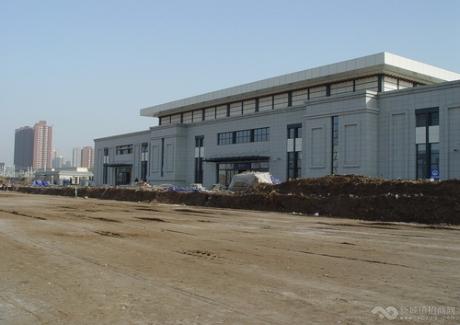 咸阳市高铁站旁167亩土地