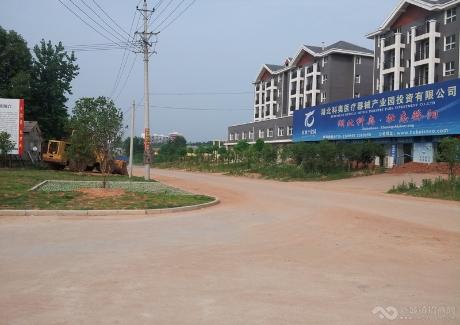 通山经济开发区吴田村地块实景图