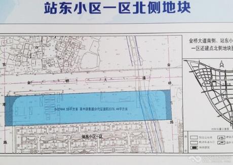 大冶市站东小区一区北侧地块实景图