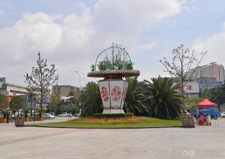 襄阳文化广场