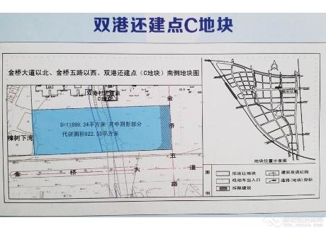 大冶市双港还建点C地块实景图