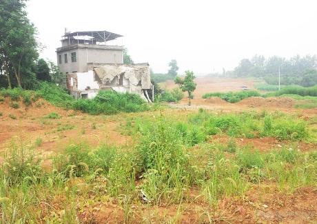阳新县城东新区14-2号地块实景图