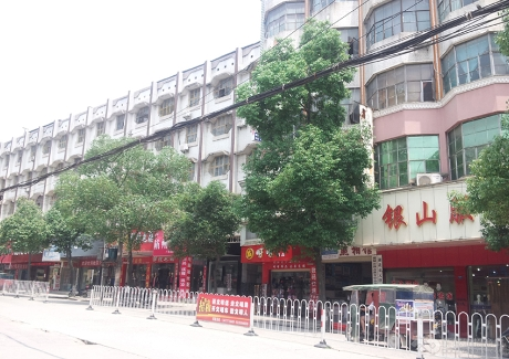 通城县中心商务城地块实景图