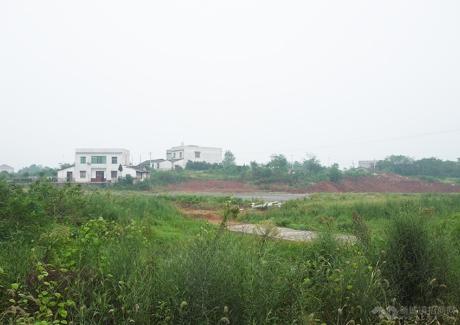 浏阳产业制造基地芦塘小镇实景图
