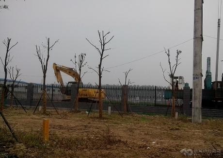 华中汽车零部件生产基地实景图