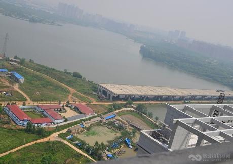武汉江北综合保税区阳逻港园区实景图