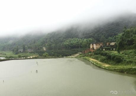 璧甸山乡——规划面积为 1100亩广袤的原生态乡趣原野实景图