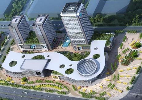 福建江阴港银河国际汽车园实景图