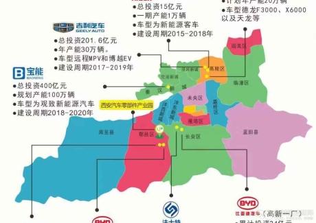 西安汽车零部件产业园实景图