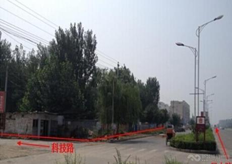河南安阳殷都区住宅用地转让实景图