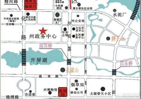 新疆博乐市老城区政务中心旁5宗国有土地低价出让