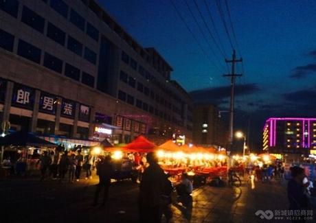黑龙江桦南县核心地下商业街出让实景图