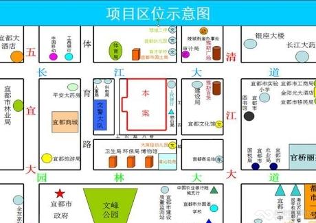 宜昌宜都市老城区中心33亩商业地产出售