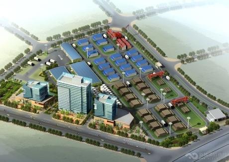 营口大型物流贸易中心项目转让或投资合作实景图
