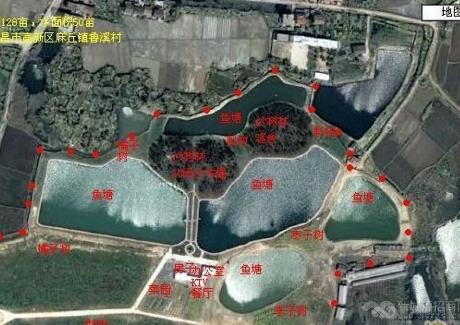南昌高新128亩农庄垂钓度假村转让实景图