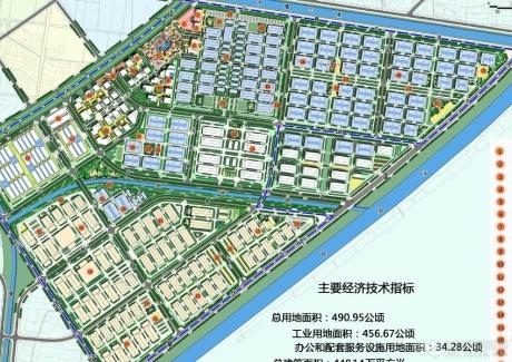 湖北荆州监利县万汇国际纺织轻工产业园7000亩可分割