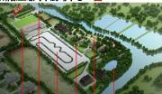 (出租)苏州阳澄湖4.6万停车场网球足球场别墅综合楼出租